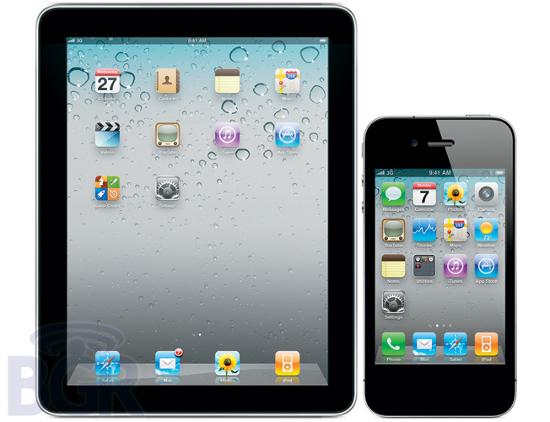 Макет iPad и iPhone