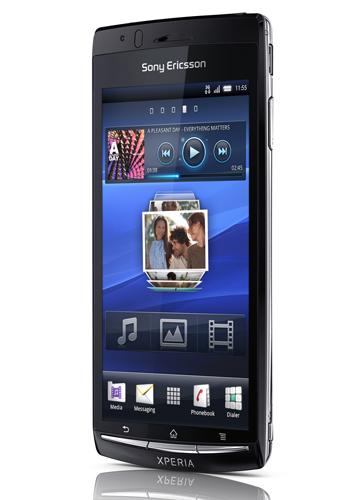 Интерфейс и виджеты на Sony Ericsson Xperia arc
