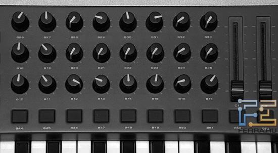 MIDI регуляторы
