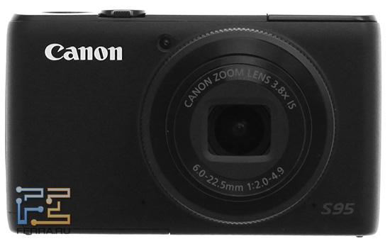 Диск Control Ring на объективе Canon PowerShot S95