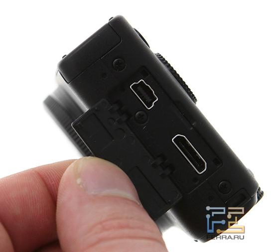 Интерфейсные разъемы Canon PowerShot S95
