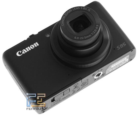 Объектив Canon PowerShot S95