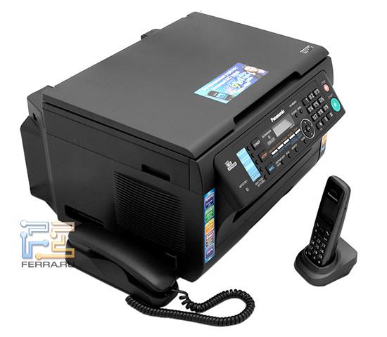 Panasonic KX-MB2051, многофункциональное устройство и радиотелефон в одном корпусе
