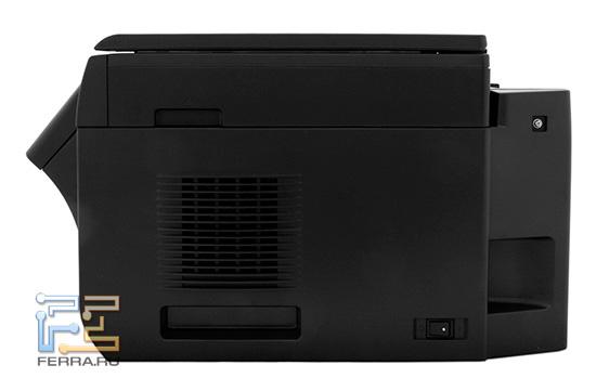 Panasonic KX-MB2051, вид сбоку
