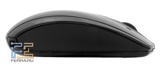 Мышь HP TouchSmart 600. Облик сбоку