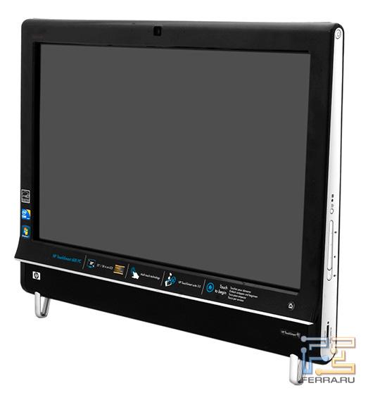 HP TouchSmart 600. Совместный вид