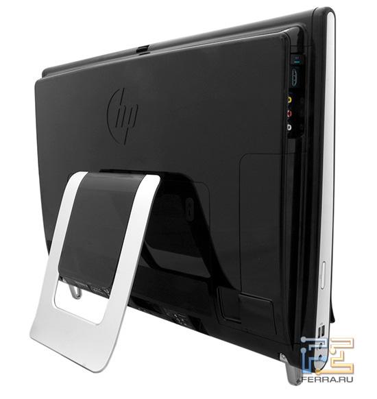 HP TouchSmart 600. Вид сзади