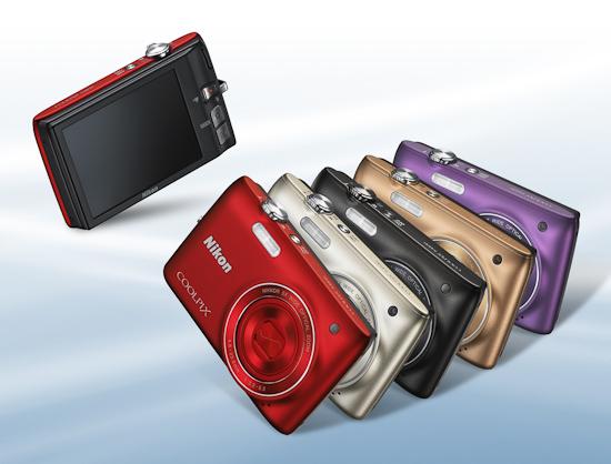 Компактные камеры Nikon Coolpix S4100
