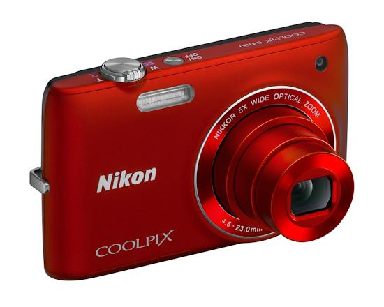 Nikon Coolpix S4100: вид спереди