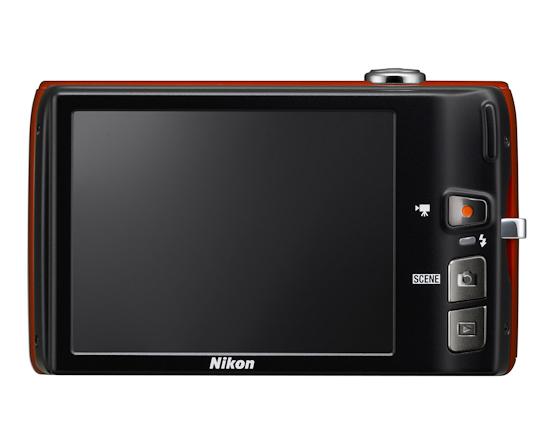 Nikon Coolpix S4100: вид сзади