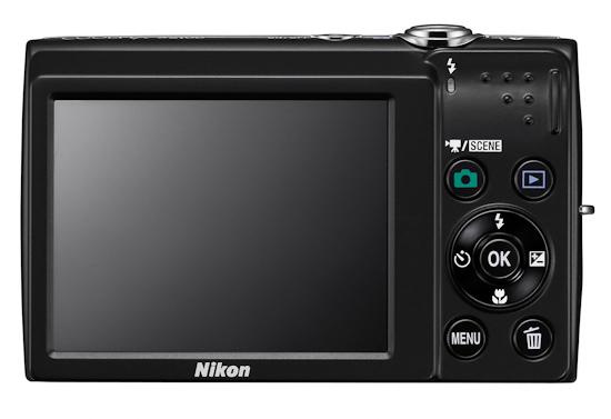Nikon Coolpix S2500: вид сзади