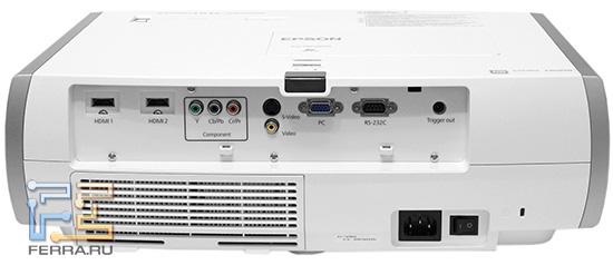 EPSON EH-TW3600. Наружность сзади