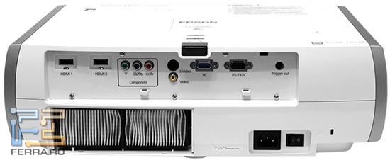 EPSON EH-TW3600 со снятой вентиляционной решеткой