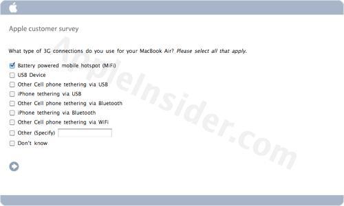 ����� �� 3G � MacBook Air