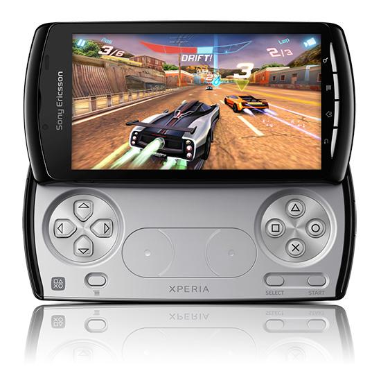 Sony Ericsson Xperia Play в разложенном виде