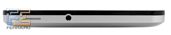 Планшет Билайн М2, внешность сверху