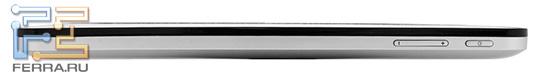 Планшет Билайн М2, вид справа