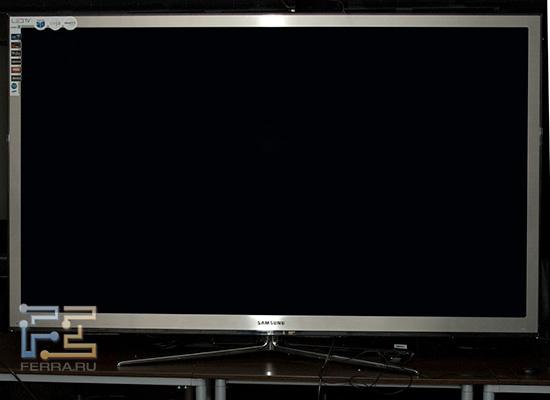 Samsung UE65C8000, наружность спереди