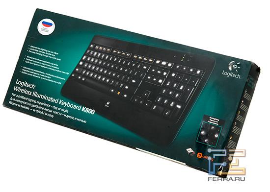 Коробка Logitech K800