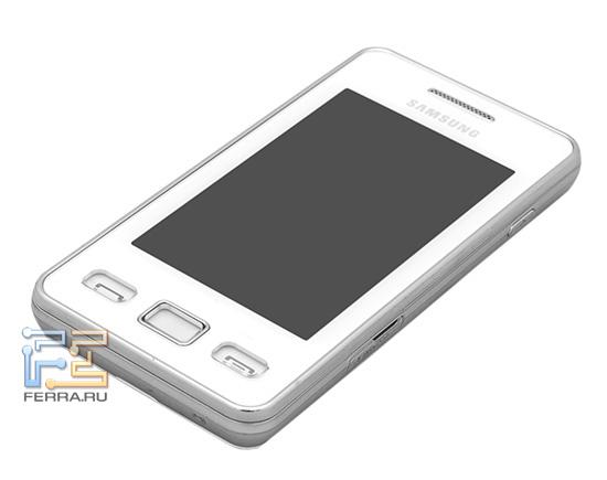Лицевая край Samsung S5260 Star II