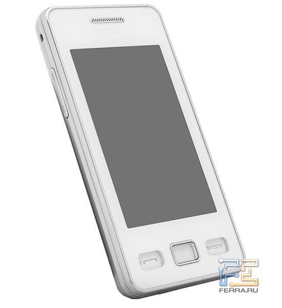 Samsung S5260 Star II - наружность в три четверти