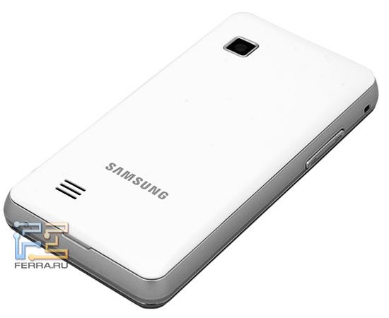 Тыльная сторона Samsung S5260 Star II