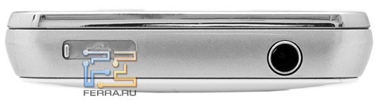 Верхний торец корпуса Samsung S5260 Star II
