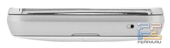 Нижний торец корпуса Samsung S5260 Star II