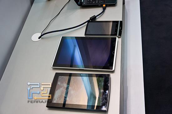 Ассортимент  планшетов ASUS
