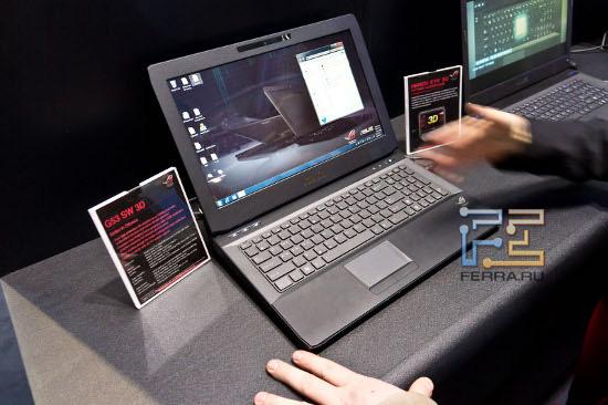 «Безочковый» «трехмерный» ноутбук ASUS G53 SW 3D