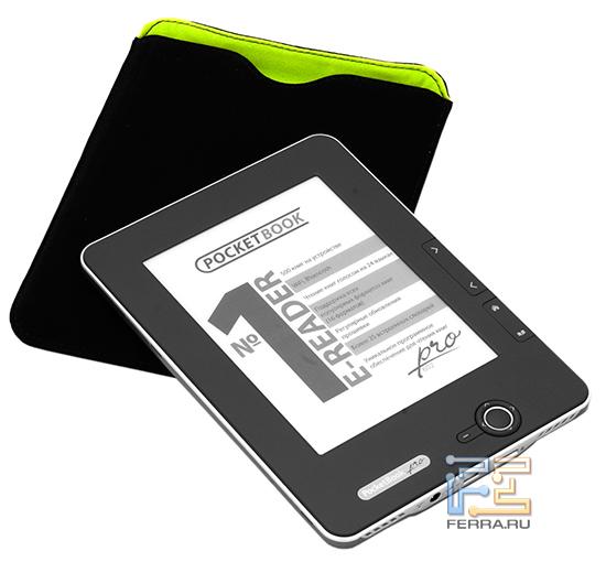 Ридер PocketBook Pro 602 и чехол