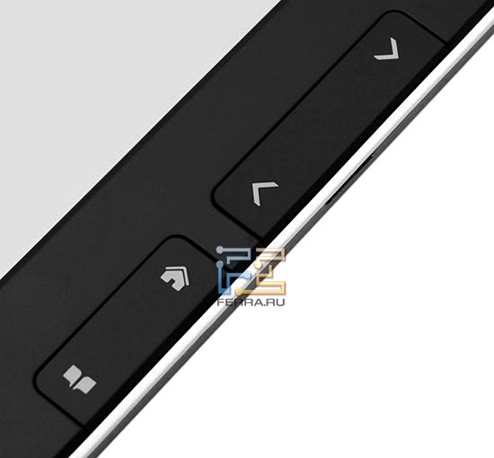 Кнопки на правой кромке PocketBook Pro 602