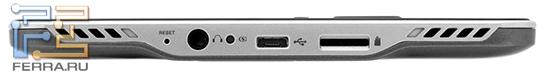 Нижний торец PocketBook Pro 602