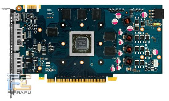 Скорее всего, при разработке GTS 450 NVIDIA сразу предполагала использование соответствующего дизайна для GTX 550 Ti