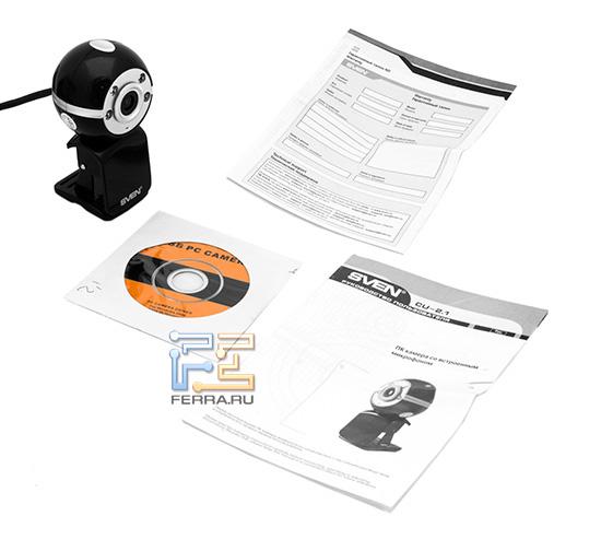 Комплект веб-камеры Sven CU-2.1