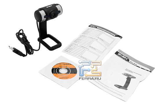 Комплект веб-камеры Sven CU-2.2
