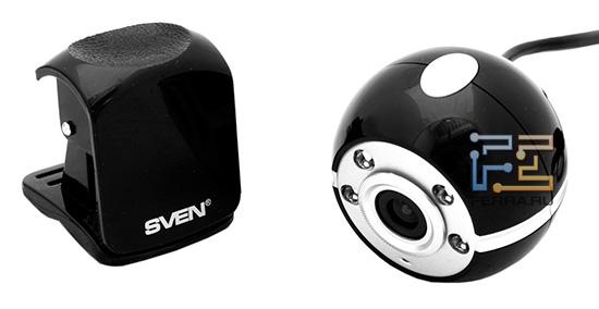 Веб-камера Sven CU-2.1 и её магнитная подставка