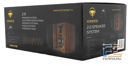 Упаковка Konoos KNS-D100