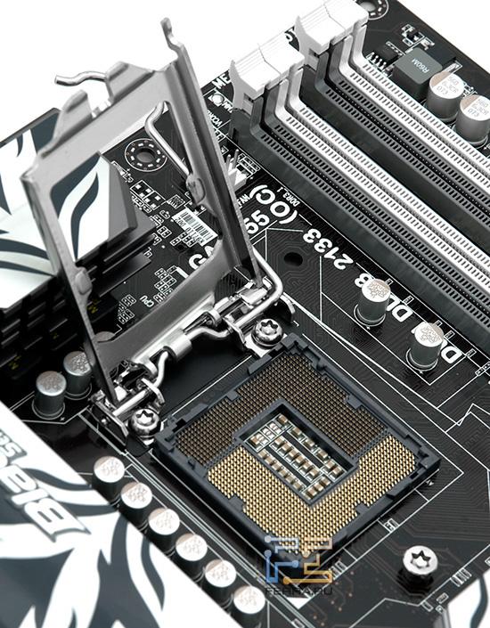 Socket 1155, предназначенный для процессоров Intel Sandy Bridge