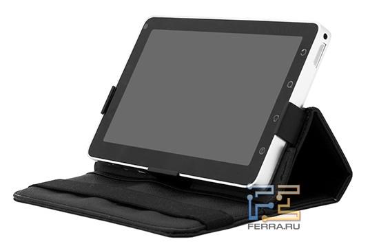 Планшет ViewSonic ViewPad 7 в чехле-подставке