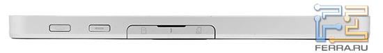 Верхняя грань ViewSonic ViewPad 7
