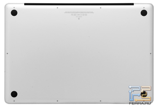 Днище Apple MacBook Pro 17