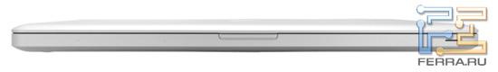 Передний торец Apple MacBook Pro 17