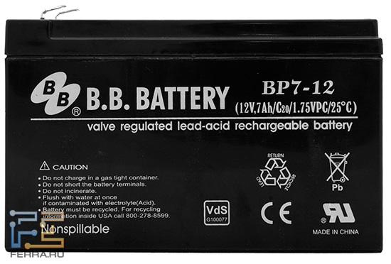 Аккумулятор BP7-12