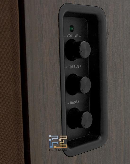 Панель управления акустической системой