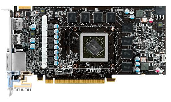 Печатная плата MSI Cyclone HD6850 не похожа на референс