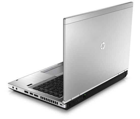 HP EliteBook 8560p. Вид сзади