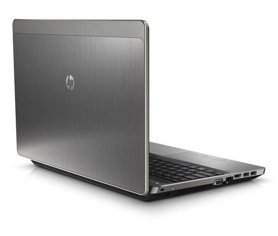 HP ProBook 4530s. Вид сзади