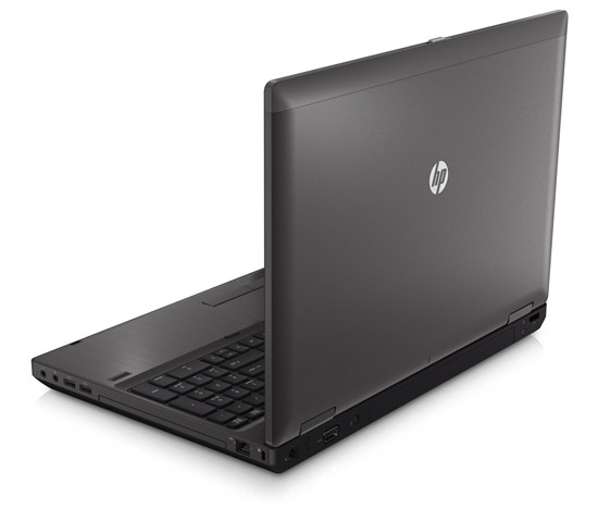 HP ProBook 6560b. Вид сзади