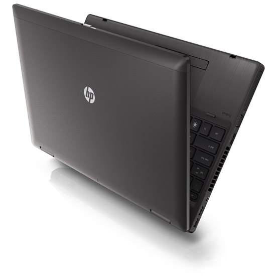 HP ProBook 6560b. Обратная сторона крышки экрана